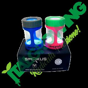 SMOKUS FOCUS-CONTENITORE DI CONSERVAZIONE STASH NERO Smokus Focus 50,00€