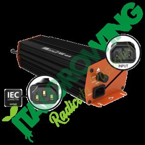 GIB LIGHTING NXE ALIMENTATORE ELETTRONICO HPS 600 W GIB Lighting 182,00€