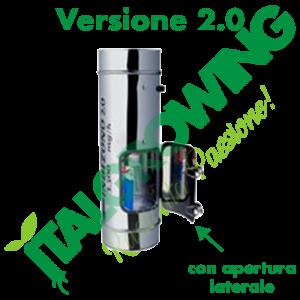 INDIZONO 2.0 Ozonizzatore 150 MM - 3500 MG/H Con Apertura Laterale Indizono 318,00€