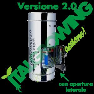 INDIZONO 2.0 Ozonizzatore 250 MM -7000 MG/H Con Apertura Laterale Indizono 460,00€