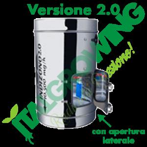 INDIZONO 2.0 Ozonizzatore 300 MM -10500 MG/H Con Apertura Laterale Indizono 509,00€