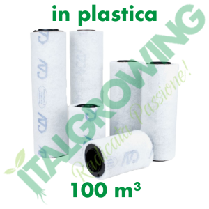FILTRO A CARBONI ATTIVI CAN FILTERS (100 M3/H) IN PLASTICA Can-Filters 39,90€