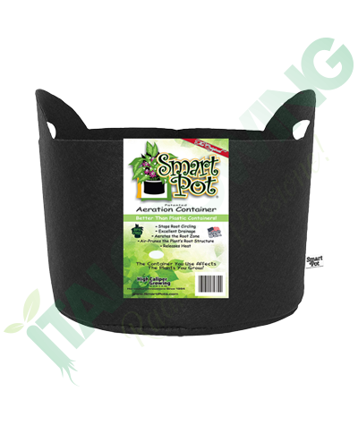 SMART POT 57 L In Tessuto Nero (con Manici) Smart Pot 15,50 €