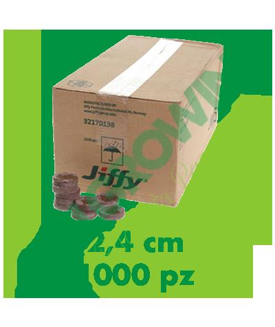 Jiffy Dischetti Di Torba 2,4 Cm (1000 Pezzi) Jiffy 95,50€