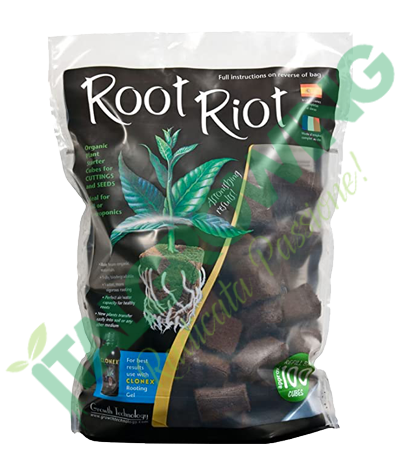 Growth Technology - Root Riot Confezione Da 100 Cubi Growth Technology 28,90€