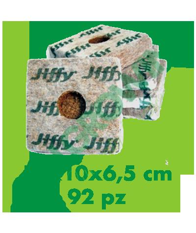 Jiffy Coco Block 10x10x6,5 (92 Pezzi) Jiffy 59,90€