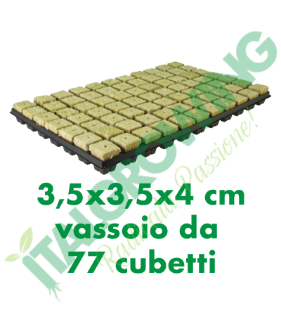 Cultilene - Cubo Di Rockool Vassoio Da 77 Cubetti (3,5x3,5x4) Cultilene 12,90€