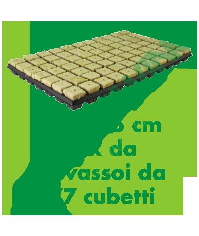 Cultilene - Cubo Di Rockool Vassoio Da 77 Cubetti 3,5x3,5x4 (Box Da 18 Vassoi) Cultilene 219,90€