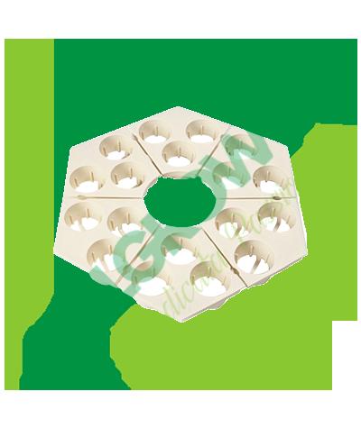 Piastre Di Ricambio 3 Fori Per Rainforest 2 - (6 Unità) GHE 42,90€