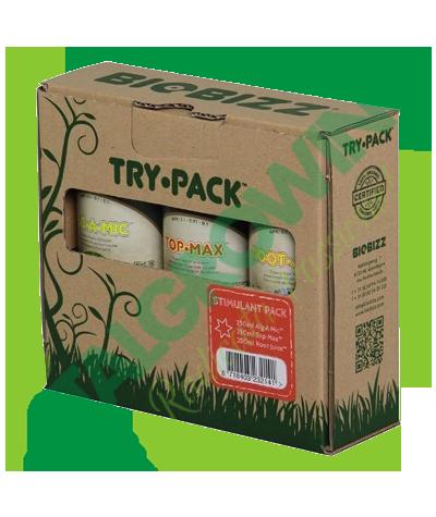 BIOBIZZ - Try·Pack Stimulant Bio Bizz 25,90€