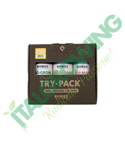 BIOBIZZ - Try·Pack Indoor Bio Bizz 14,50€