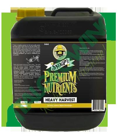 Snoop's Nutrients - Heavy Harvest 5L Snop's Premium Nutrients 82,50€