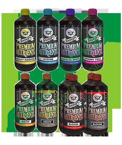Snoop's Nutrients - Starter Kit Snop's Premium Nutrients 163,50€