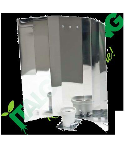 Riflettore Alluminio Liscio - 47  14,90€