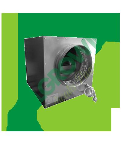 AIRFAN ASPIRATORE INSONORIZZATO ISO-BOX METAL 25 CM( 1200M3/H) Airfan 249,00€