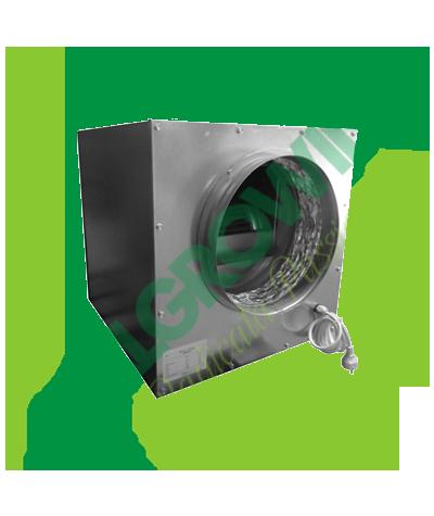 AIRFAN ASPIRATORE INSONORIZZATO ISO-BOX METAL 25 CM (1500M3/H) Airfan 265,50€