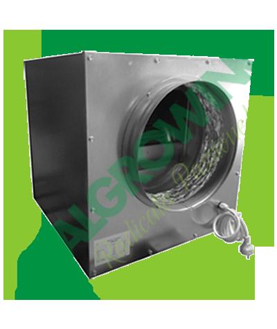AIRFAN ASPIRATORE INSONORIZZATO ISO-BOX METAL 2X25 CM (4250 M3/H) Airfan 439,00€