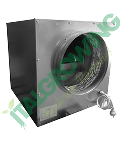 AIRFAN ASPIRATORE INSONORIZZATO ISO-BOX METAL 2X25 CM(5000 M3/H) Airfan 569,00€