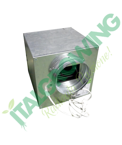 AIRFAN ASPIRATORE INSONORIZZATO ISO-BOX METAL 16 CM (550 M3/H) Airfan 169,00€