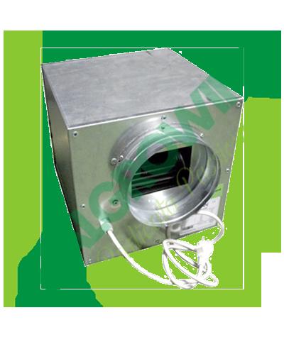 AIRFAN ASPIRATORE INSONORIZZATO ISO-BOX METAL 20 CM (750 M3/H) Airfan 189,00€