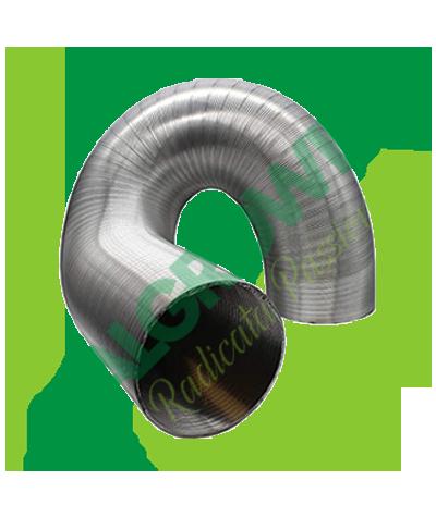 Condotta Areazione Flessibile Alluminio Ø 203 MM (10 M) Vents 17,50€