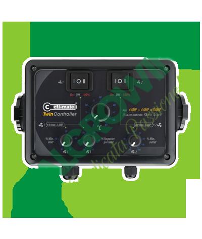CLI-MATE Twin Controller (8 A) Cli-mate 133,90€