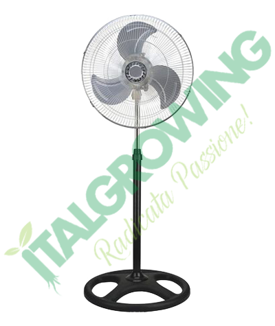 Ventilatore CLIVEX a Piantana, Standing e Parete Master Industrial 45 CM (75 W) Clivex 49,90€