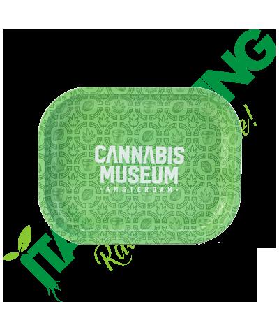 Vassoio in Metallo Cannabis Museum Collection Logo  6,90€