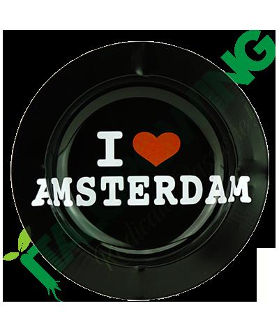 Posacenere in Metallo I Love Amsterdam  3,90€