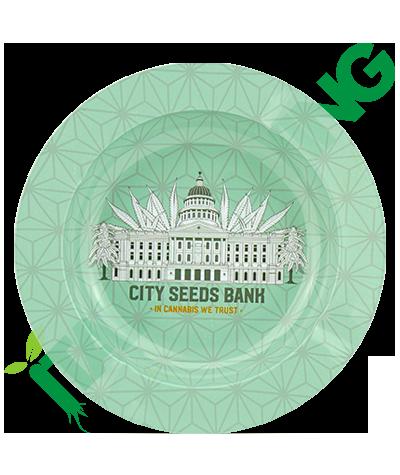 Posacenere in Metallo City Seeds Bank  3,90€