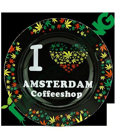 Posacenere in Metallo I Love Amsterdam Jamaica  3,90€