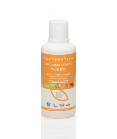 """Biodermoliquido Neutro per Corpo e Shampoo 500 Ml """"VERDESATIVA"""" Verdesativa 9,90€"""