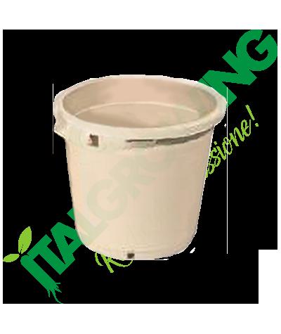 Vaso Rotondo Bianco 25x24 - 9L  2,90€