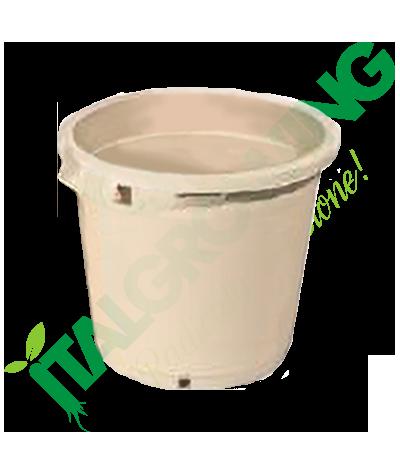Vaso Rotondo Bianco 30x30 - 17L  4,40€