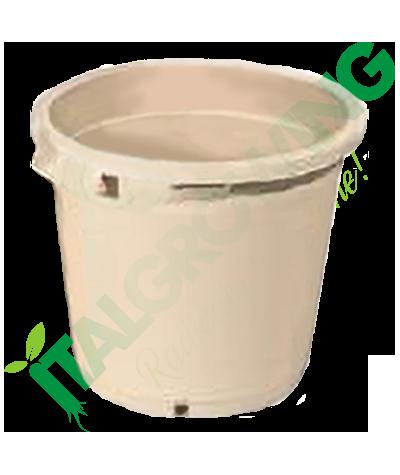 Vaso Rotondo Bianco 35x35 - 27L  5,90€