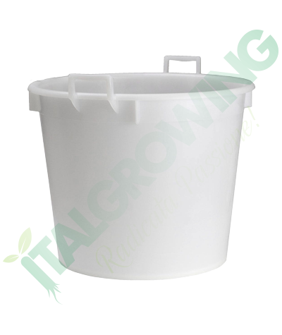 Vaso Mastello Bianco Con Manici 30L  6,90€