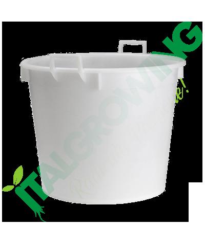 Vaso Mastello Bianco Con Manici 40L  7,90€