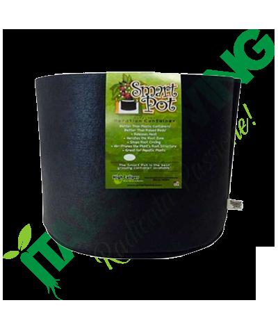 SMART POT 60 L In Tessuto Nero Smart Pot 15,90€
