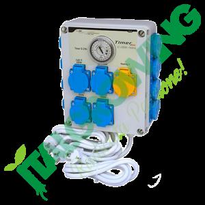 Quadro Elettrico GSE Timer Box II (12x 600 W) Gse 179,90€