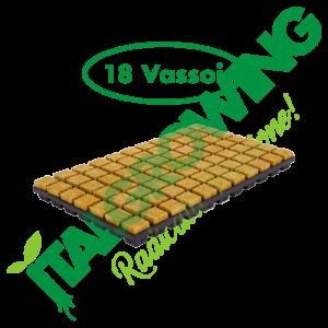Cultilene - Cubo Di Rockool Vassoio Da 150 X 18 Vassoi (2,5x2,5x4) Cultilene 199,90€