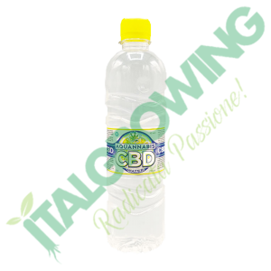 Acqua al CBD Aquannabis 0,5L  1,80€