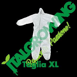 Tuta In T.NT Con Cappuccio - Taglia XL  6,50€
