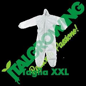 Tuta In T.NT Con Cappuccio - Taglia XXL  6,50€