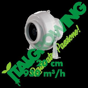 ASPIRATORE ELICOIDALE BLAUBERG CENTRO MAX 20 CM (930 M3/H) Blauberg 122,90€