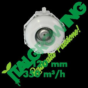 CAN FAN ASPIRATORE CENTRIFUGO RK 120 (350 M3/H) Can-Filters 95,00€